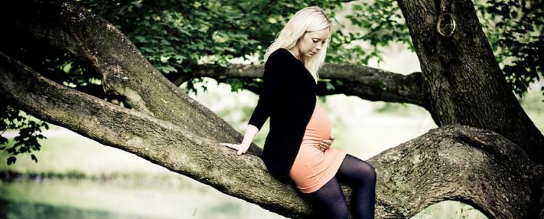 Gravid og mavebilleder