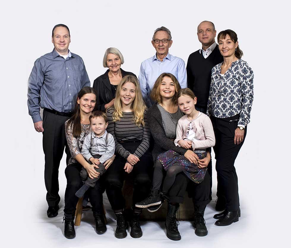 gruppefotografering familie århus