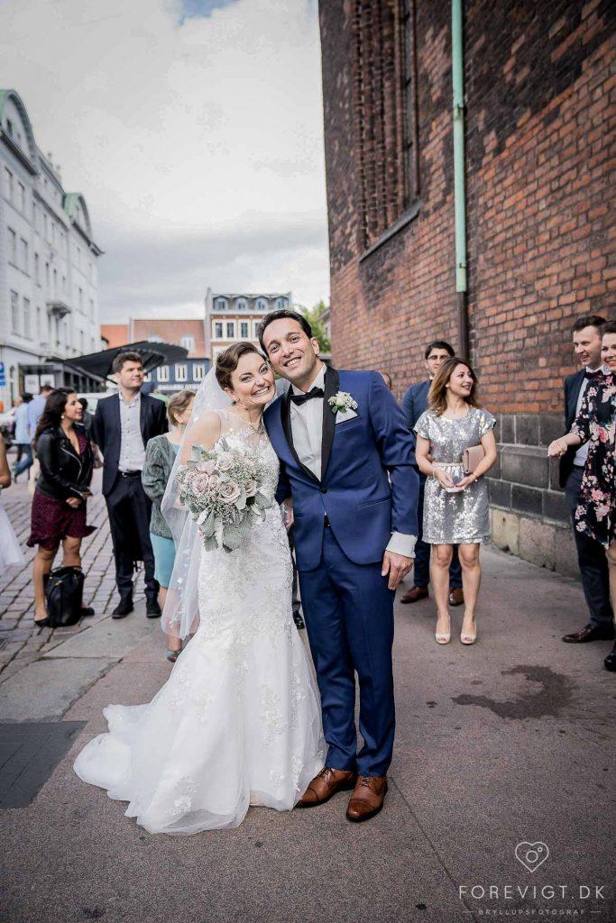 bryllup lykønskning Århus